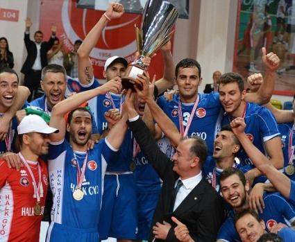 Страхотен Матей Казийски с 22 точки и MVP! Халкбанк спечели Суперкупата на Турция (ГАЛЕРИЯ)
