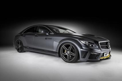 Черна версия Mercedes CLS