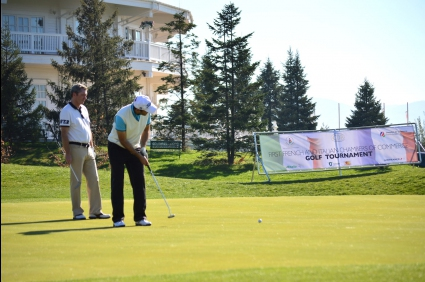 Първи голф турнир на Френската и Италианската търговски камари в България