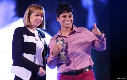 Стела Енева за трети път Спортист на годината с увреждания