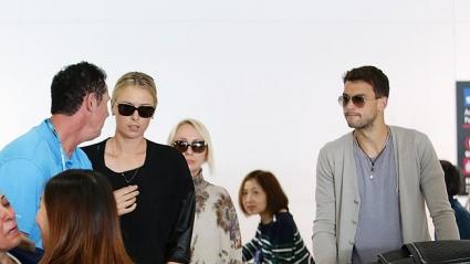 Григор Димитров и Шарапова пристигнаха в Австралия