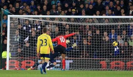 Кардиф изпусна Съндърланд след гол в 95-ата минута