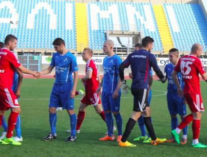 Левски започна със загуба в Кипър (видео)