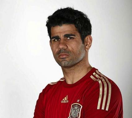 Диего Коща облече екип на Испания (снимка)