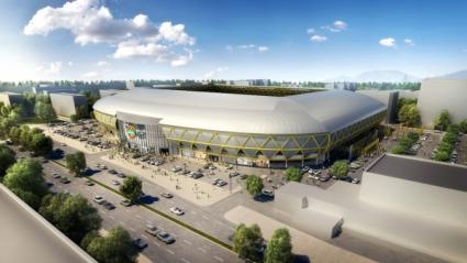 Ботев Пд представи уникален за България проект на стадион (ГАЛЕРИЯ)