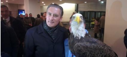 Орлицата на Лацио кацна в София заради Лудогорец
