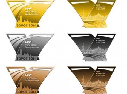 Знакът на победата вплетен в медалите от Сопот 2014