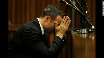 Писториус се разплака днес по време на съдебния процес