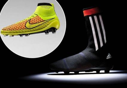 Уникално! Историческа промяна на футболните обувки (снимки+видео)