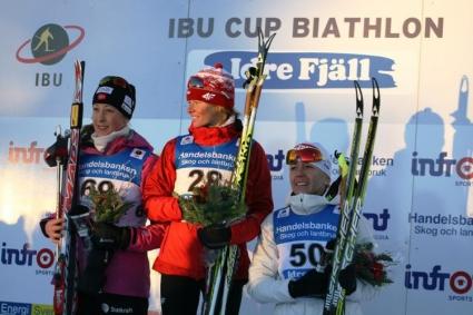 Българската щафета остана на  9-о място на Световното първенство по биатлон за юноши