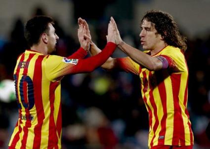 Меси: Пуйол ще липсва на Барселона