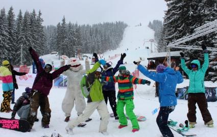 България взе домакинство на кръг от световната купа по сноуборд