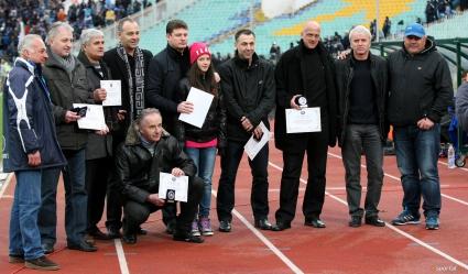 Левски отново награди бивши играчи (галерия)