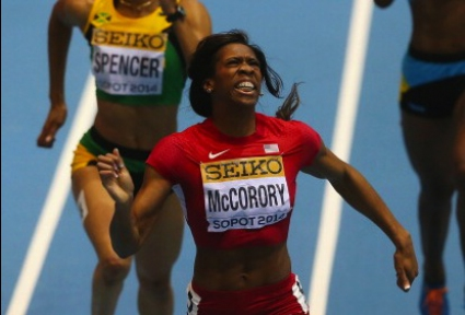 Маккоръри спечели златото в бягането на 400 метра