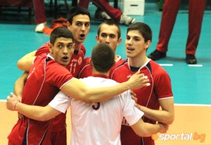 Волейболистите от ЦСКА с благотворителна кауза