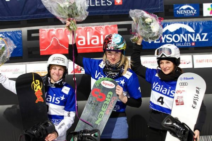 Сани Жекова трета в Швейцария