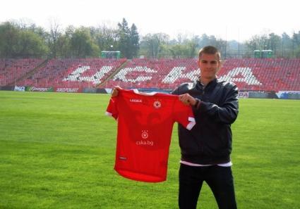 Юноша подписа първи договор с ЦСКА