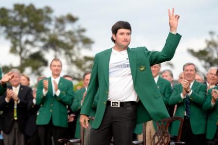 """Уотсън отново облече зеленото сако след триумф на """"Мастърс""""-а"""