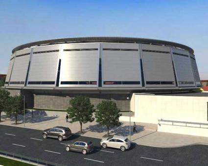 """""""Арена Русе"""" ще бъде най-добрата зала в България"""