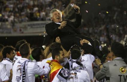 Анчелоти: Заслужихме трофея