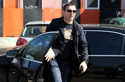 Гигов и Марков на визита в Гоце Делчев преди срещата с Пирин