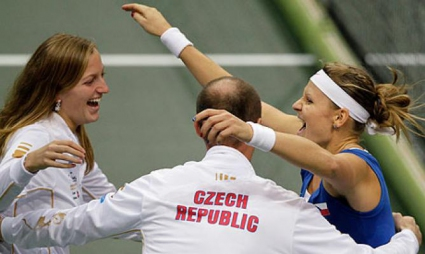 """Чехия и Германия в спор за трофея на """"Фед Къп"""""""