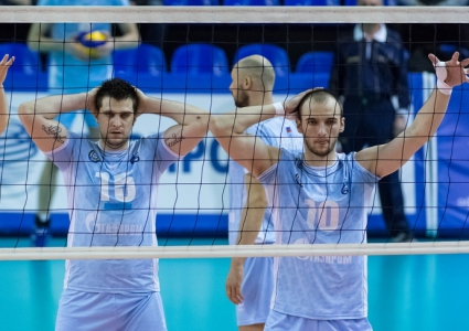Газпром победи Губерния с 3:0 и изравни 1/4-финалната серия до 2-2 (ГАЛЕРИЯ)