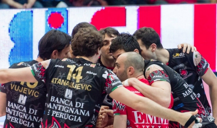 Перуджа хвърли бомбата в Италия и ще играе на финала (ВИДЕО + ГАЛЕРИЯ)