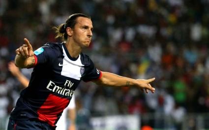Ибрахимович беше избран за футболист на годината във Франция