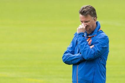Ван Гаал отказа да говори за Манчестър Юнайтед