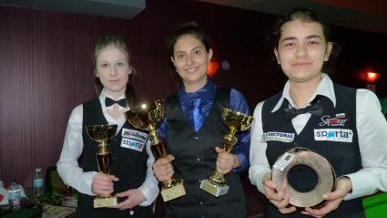Моника Методиева е първата шампионка на България по снукър