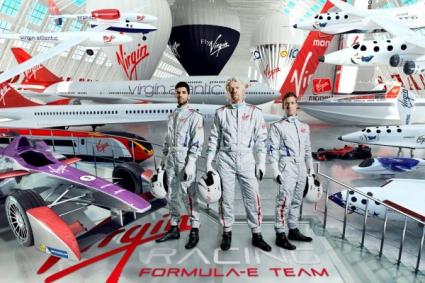 Алгерсуари и Бърд в екипа на Ричард Брансън във Формула Е