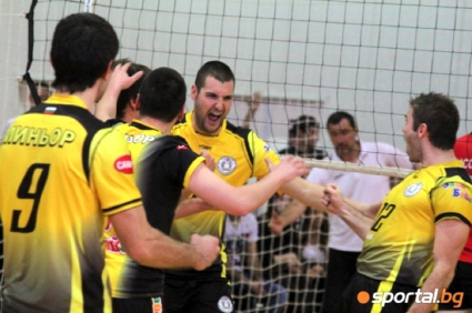 Волейболистите на Миньор получават шампионската Купа в събота