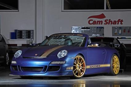 Едно по-специално Porsche 911 Кабрио