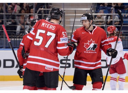 Канада разгроми Дания