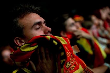 Отпадането на Испания постави рекорди в социалната мрежа
