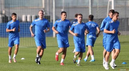 Футболистите на Левски проведоха възстановителна тренировка