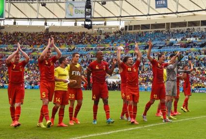 Победата на Белгия срещу Русия снощи се размина без сериозни инциденти