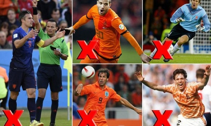 """За първи път от 221 мача Холандия ще бъде без """"Ван"""" в състава си"""