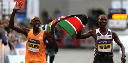 Пейсмейкър победи световния рекордьор в маратона