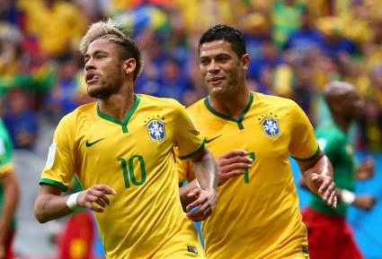 Бразилия разпиля Камерун след шоу на Неймар и среща екзекутора на Испания (видео+галерии)