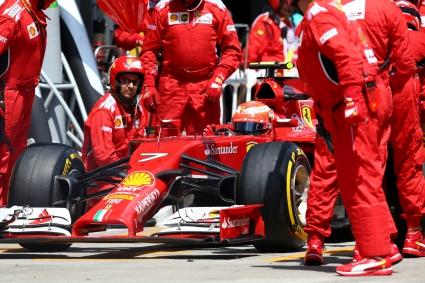 Райконен разочарован от проблемите във Ферари