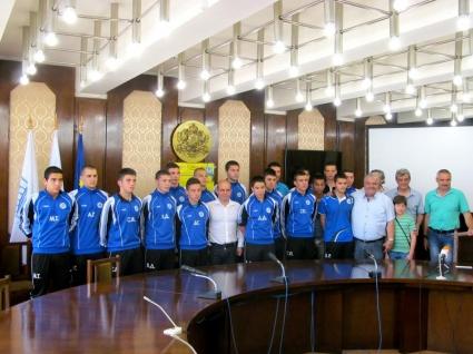 Елитните юноши на Дунав захранват и представителния отбор