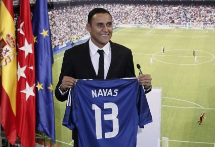 Кейлор Навас: Ще дам сърцето си за Реал Мадрид (видео+галерия)