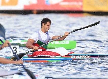Мирослав Кирчев се класира за полуфиналите на 1000 метра едноместен каяк на СП