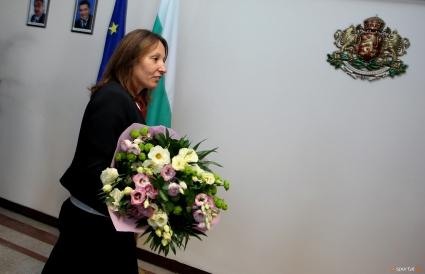 Министър Раданова поздрави Мирослав Кирчев