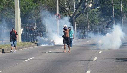 Безредици в Бразилия преди срещи от местното футболно първенство
