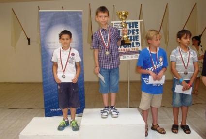 Десетгодишен талант от Плевен спечели шахматен фестивал в Санкт Петербург