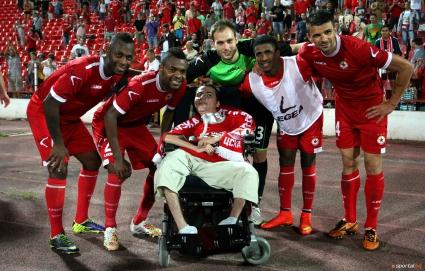 Трогателният разказ на момчето, чиято мечта бе сбъдната от ЦСКА