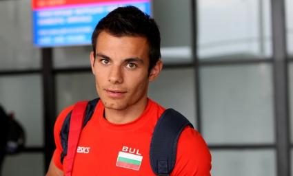 Денис Димитров в серия с Мартина и Дасаолу на 100 м